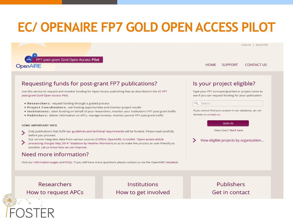 FP7 GOLD