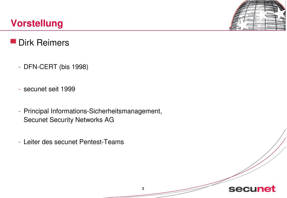 Informations-Sicherheitsmanagement, Secunet