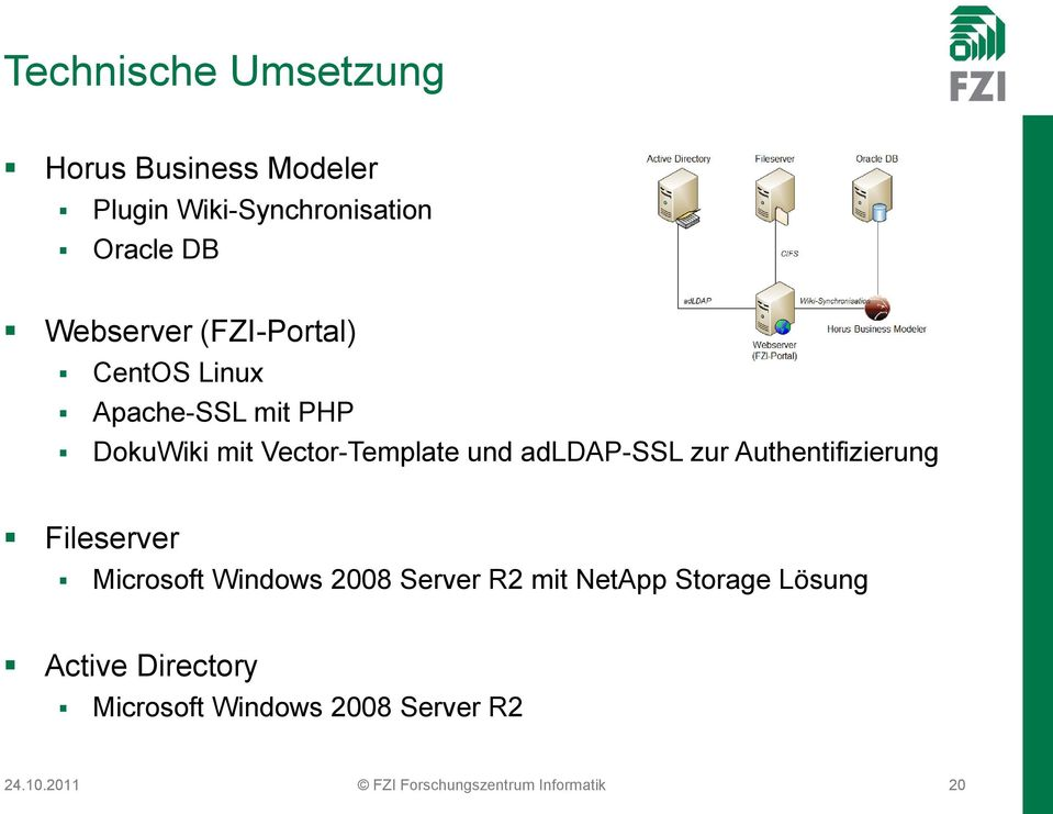 Authentifizierung Fileserver Microsoft Windows 2008 Server R2 mit NetApp Storage Lösung