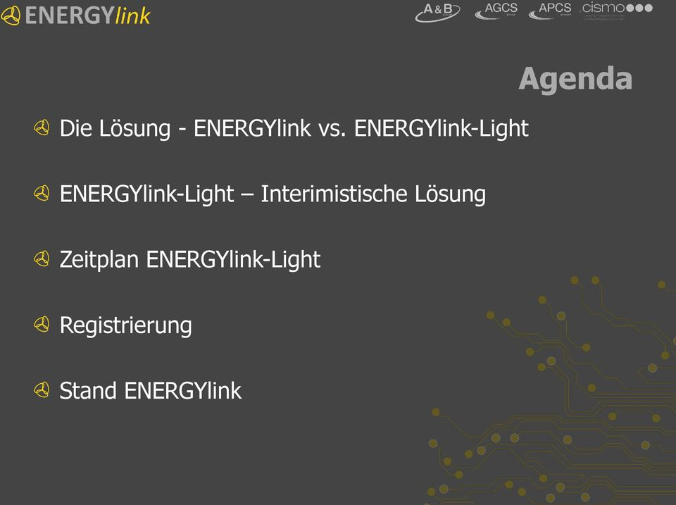 ENERGYlink-Light Interimistische