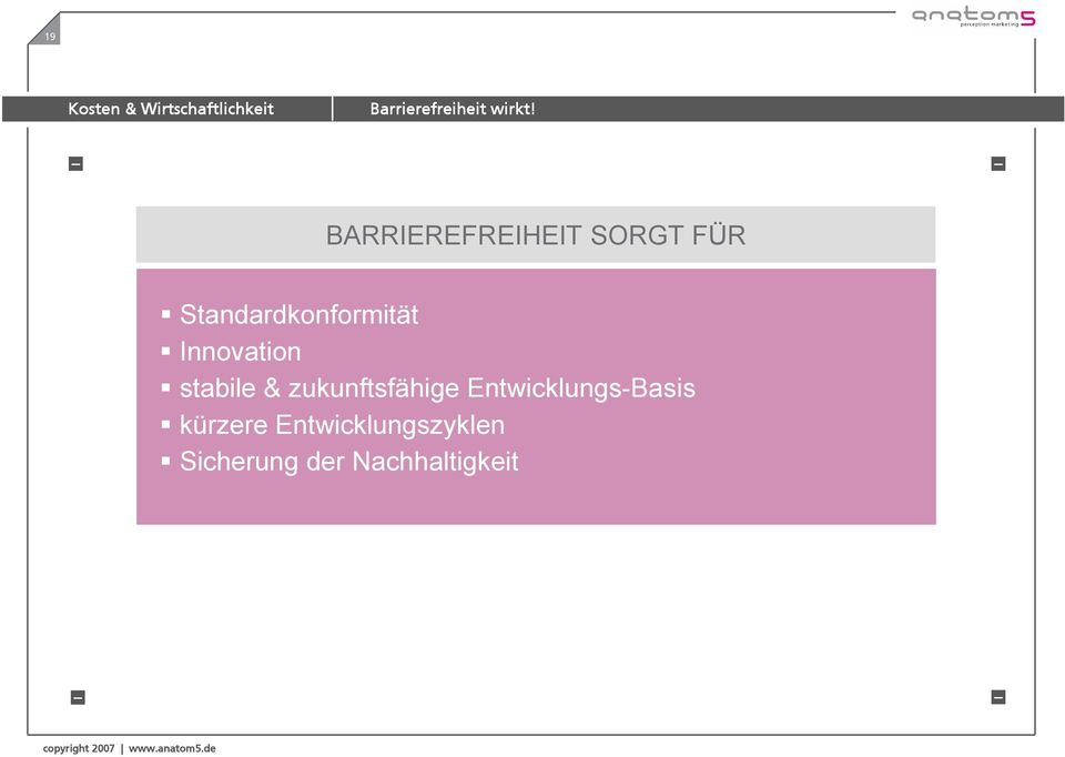 Standardkonformität Innovation stabile &
