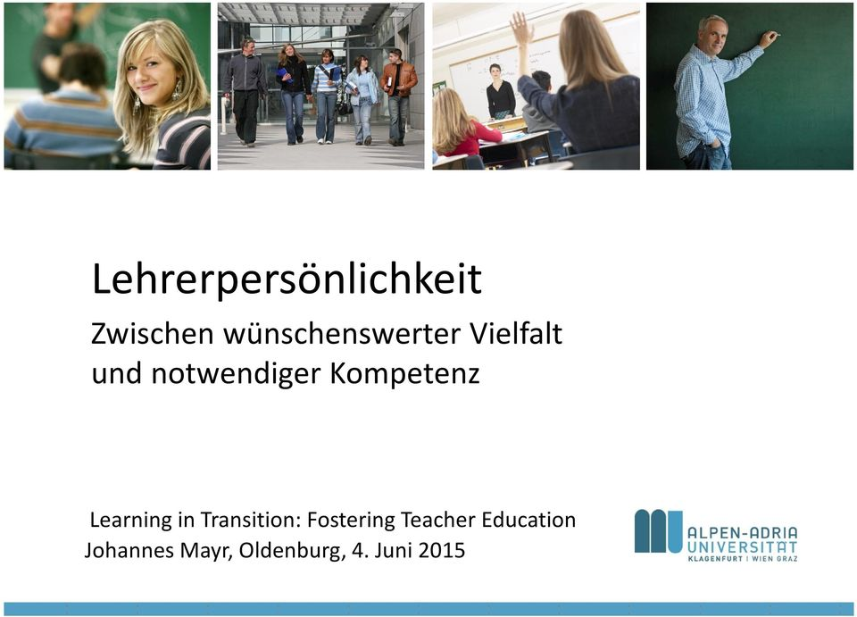Kompetenz Learning in Transition: