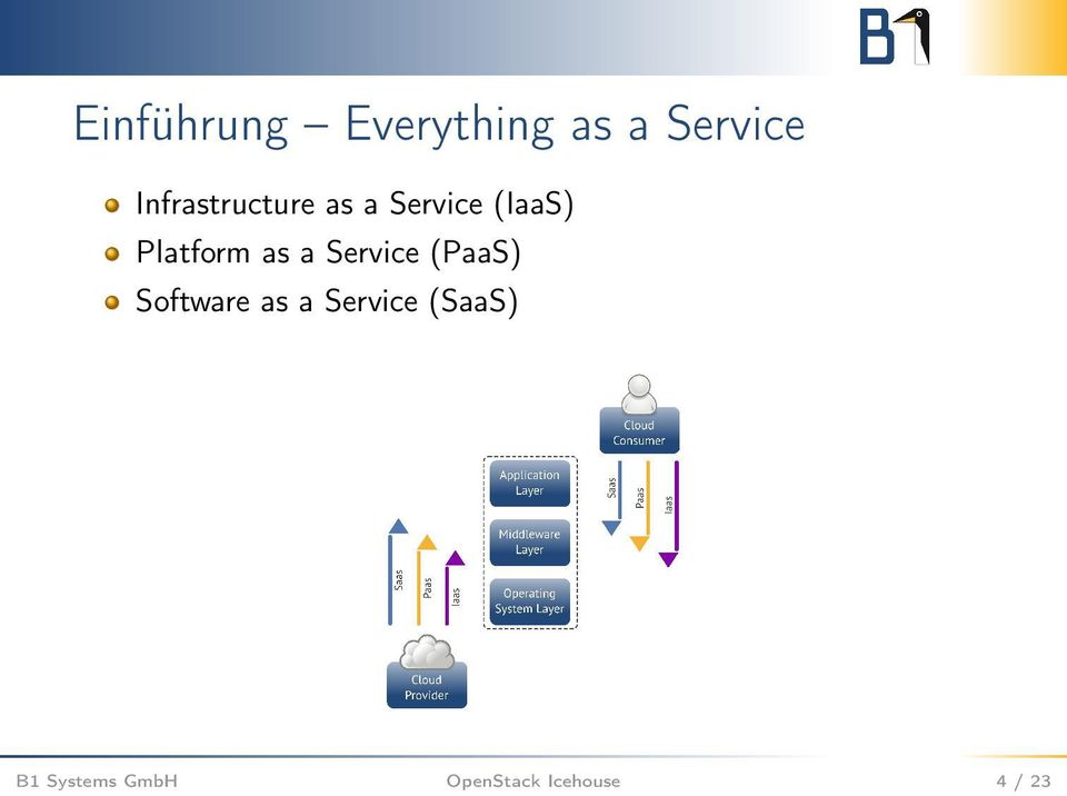 Platform as a Service (PaaS) Software as a