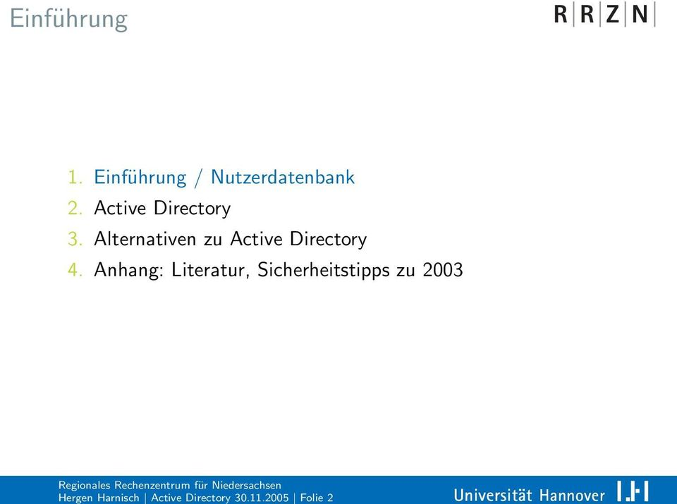 Active Directory 3.
