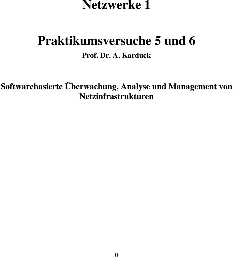Karduck Softwarebasierte