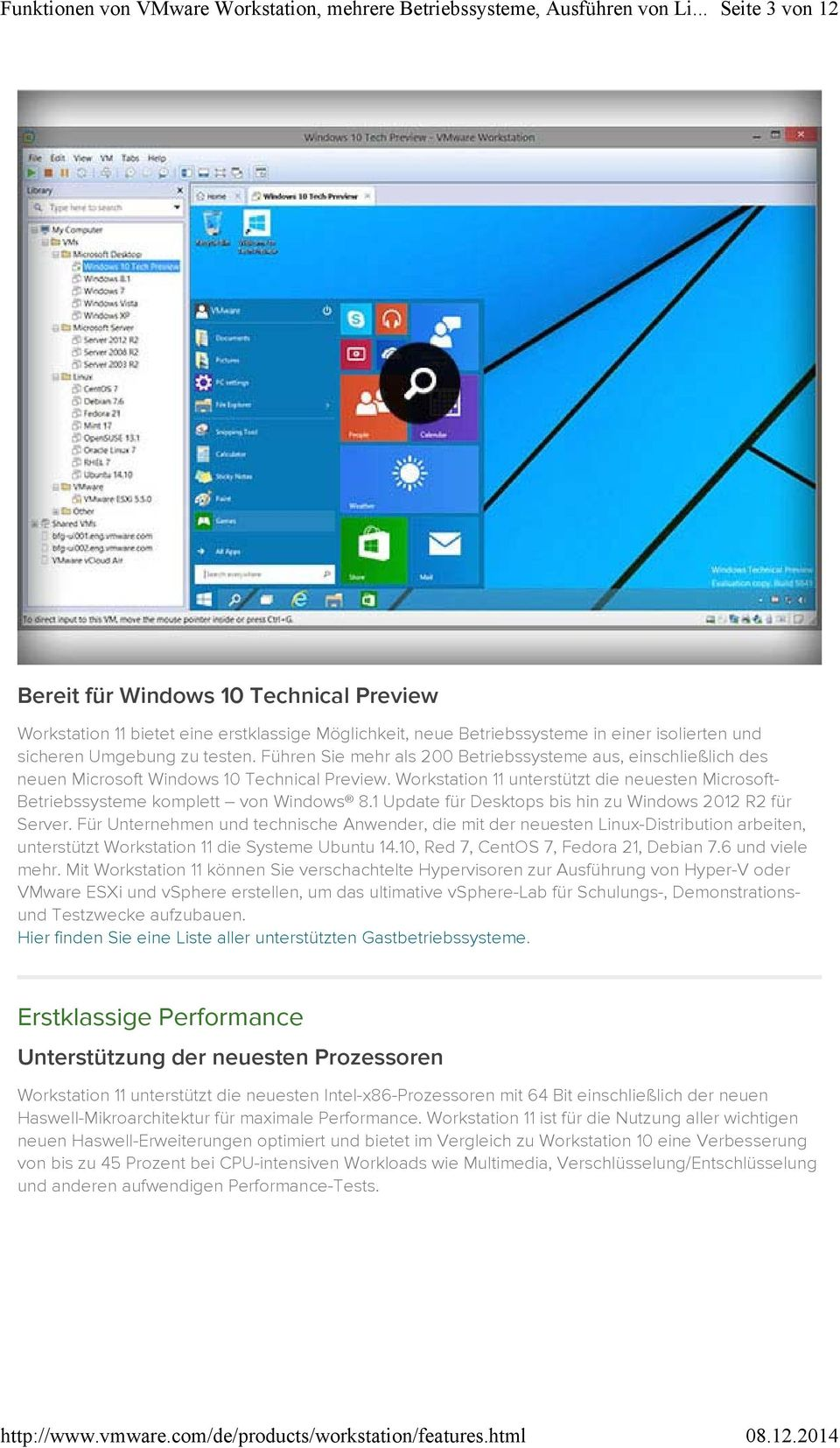 1 Update für Desktops bis hin zu Windows 2012 R2 für Server.