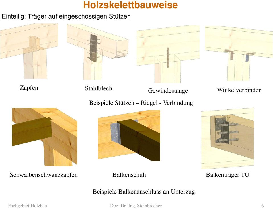 holzskelettbauweise fachgebiet holzbau doz dr ing. Black Bedroom Furniture Sets. Home Design Ideas