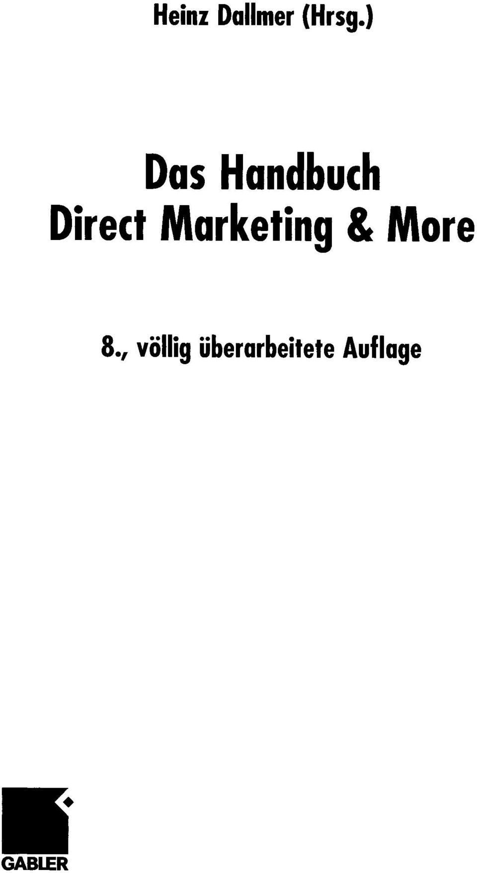 Marketing & More 8.