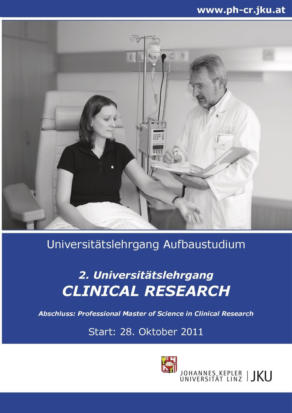 Universitätslehrgang CLINICAL RESEARCH