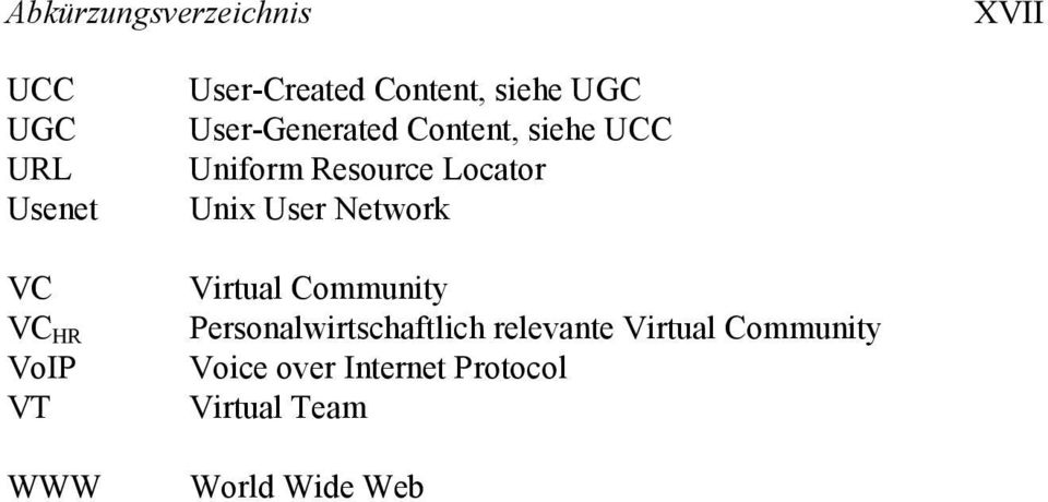 Resource Locator Unix User Network Virtual Community Personalwirtschaftlich