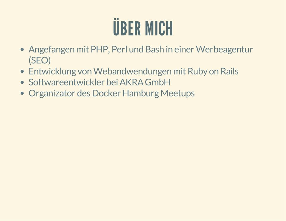 Webandwendungen mit Ruby on Rails