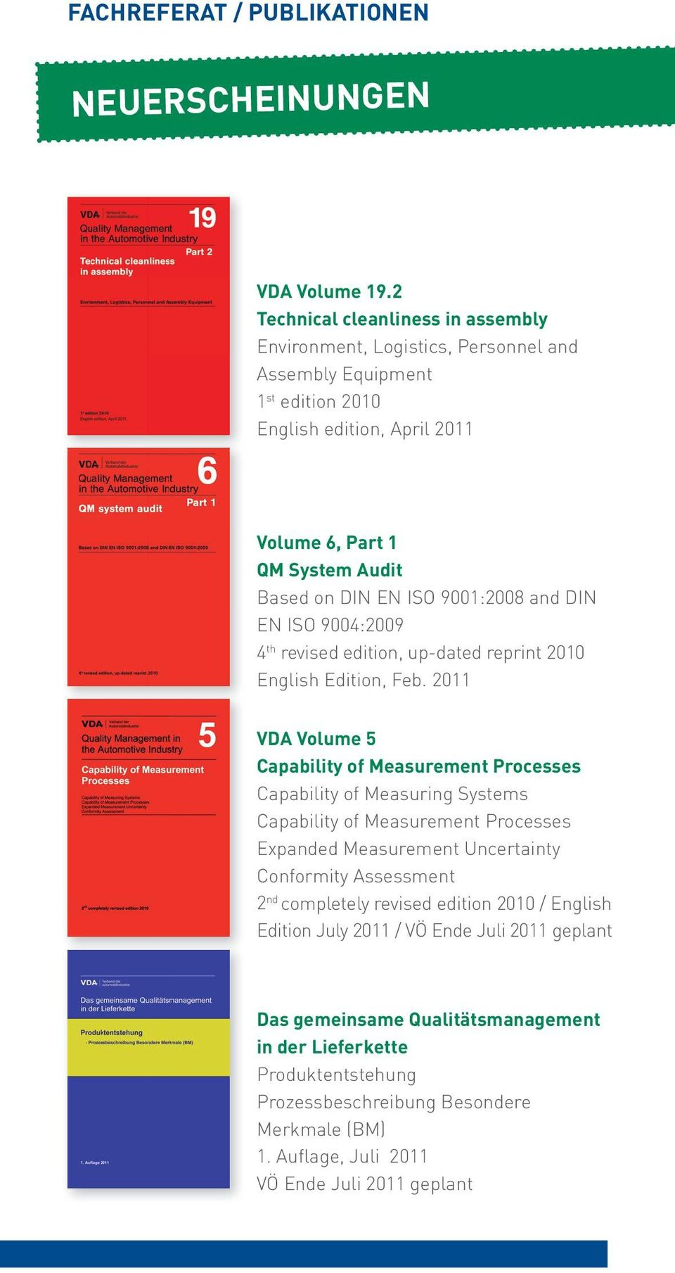9001:2008 and DIN EN ISO 9004:2009 4 th revised edition, up-dated reprint 2010 English Edition, Feb.