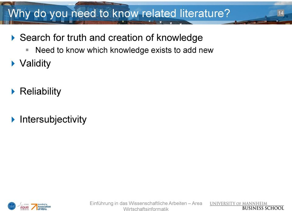 knowledge Need to know which knowledge