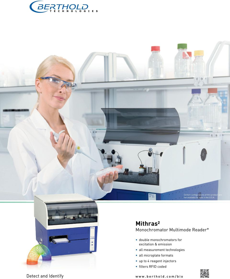 excitation & emission all measurement technologies all microplate formats up