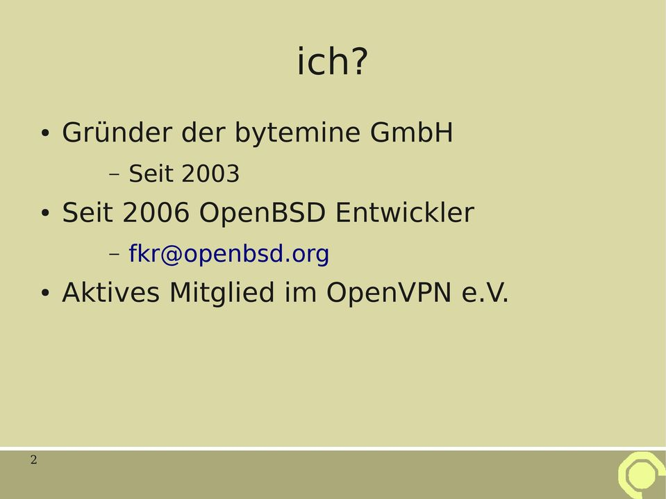 OpenBSD Entwickler