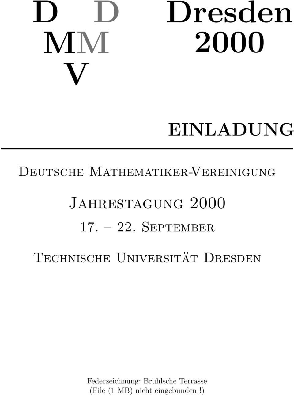 September Technische Universität Dresden