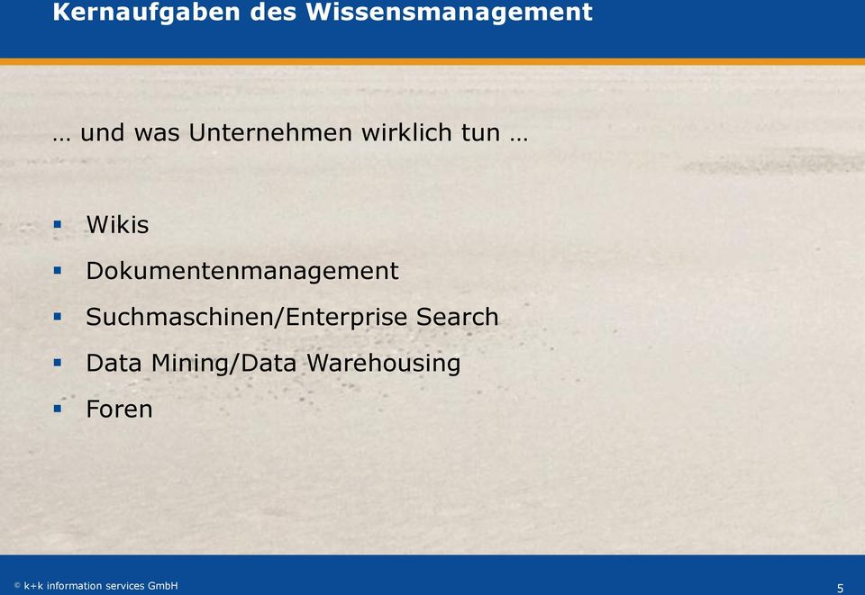 Dokumentenmanagement Suchmaschinen/Enterprise