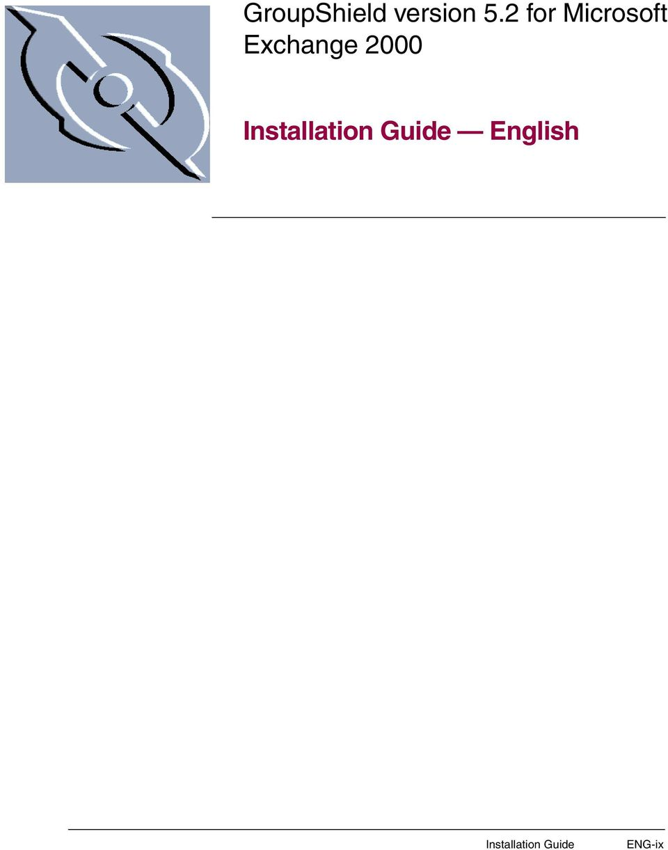 2000 Installation Guide