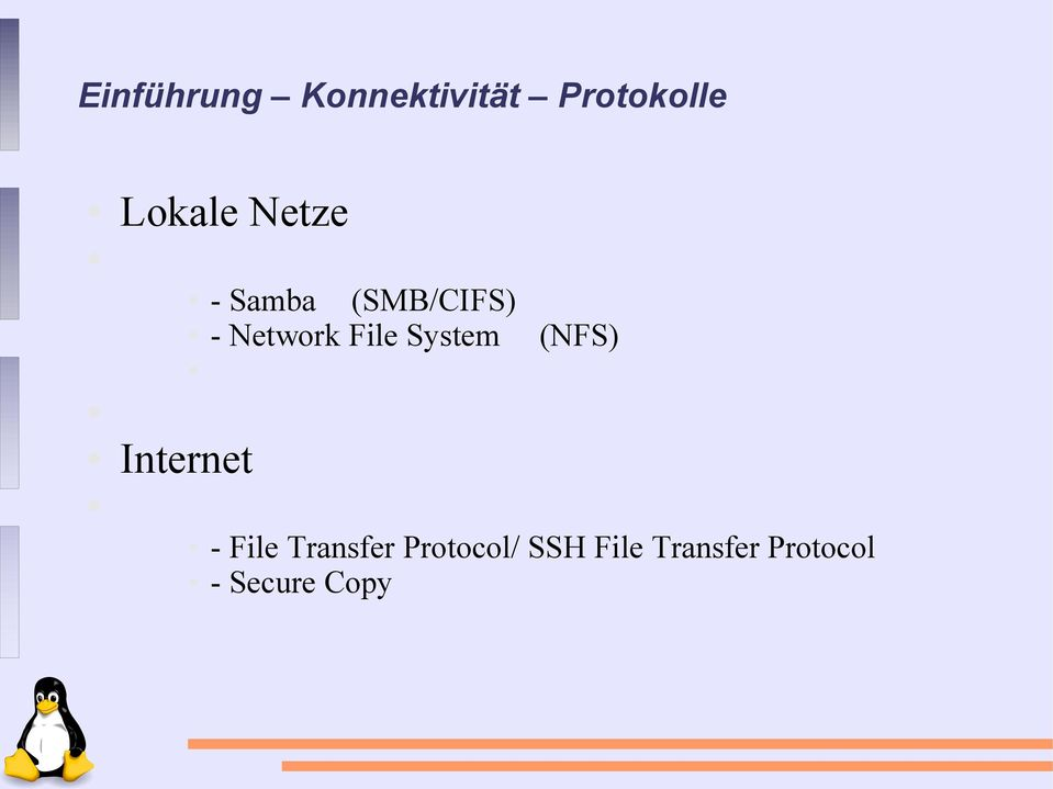 System (NFS) Internet - File Transfer