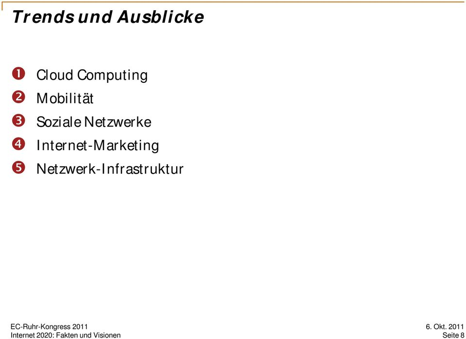 Netzwerke Internet-Marketing