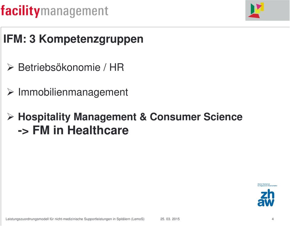 Immobilienmanagement Hospitality