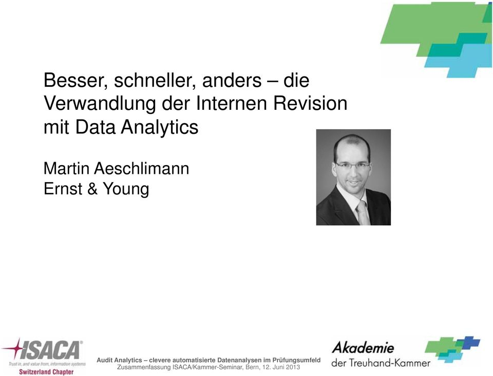 Revision mit Data Analytics