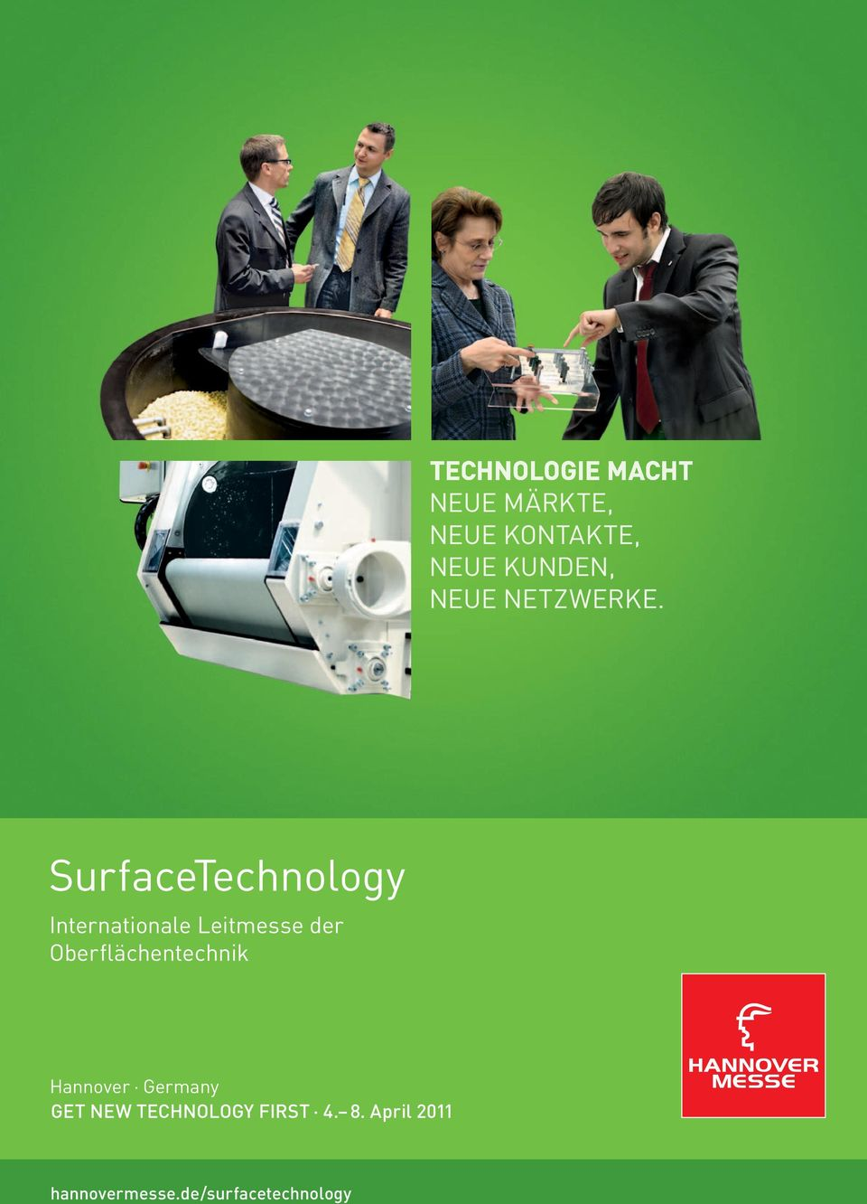 SurfaceTechnology Internationale Leitmesse der