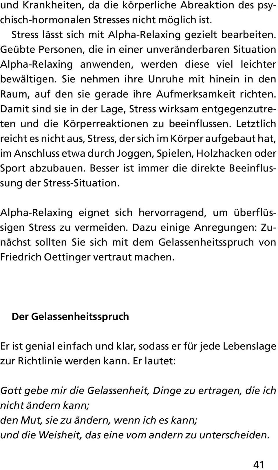 körperreaktionen bei stress