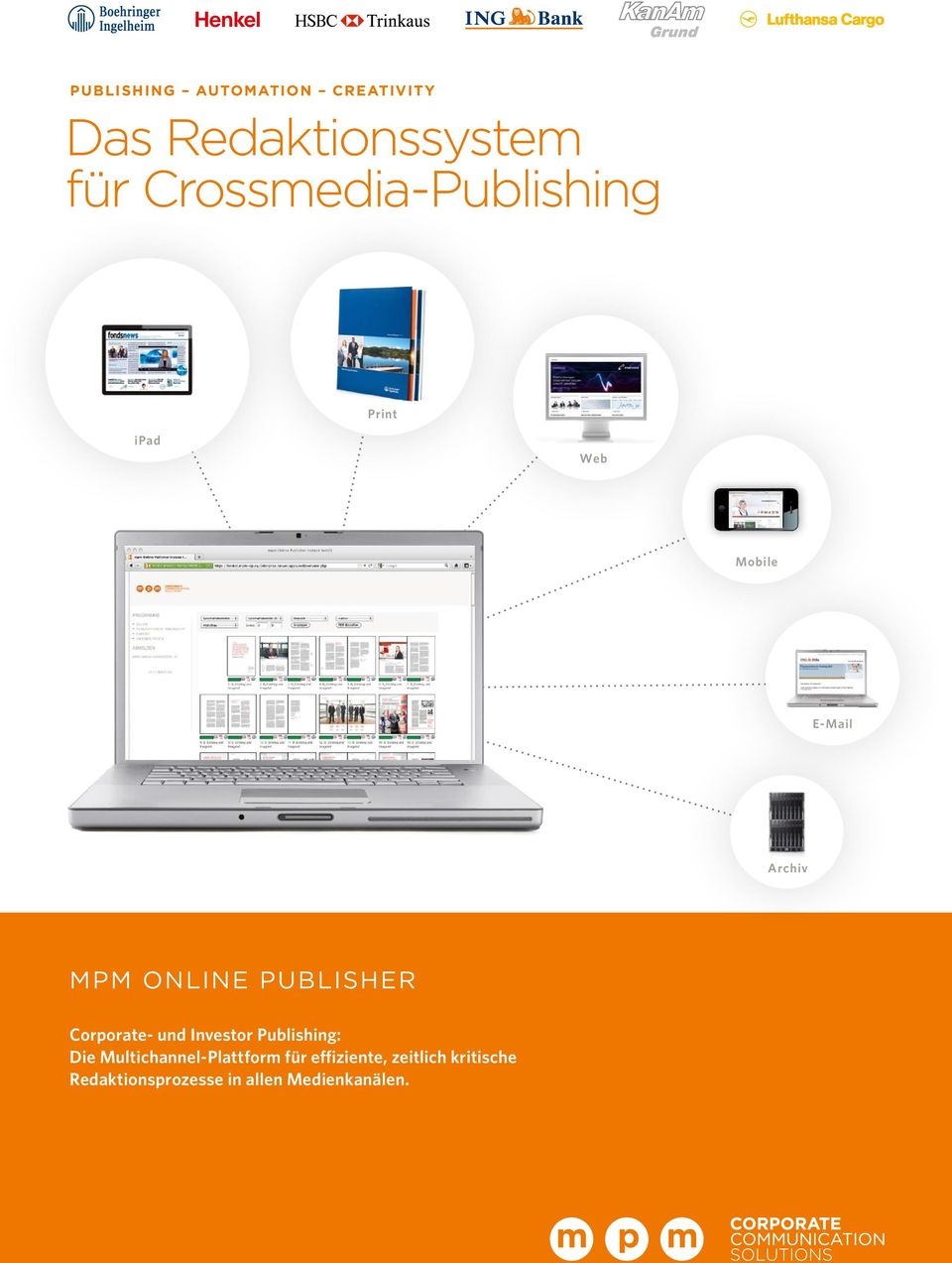 Publisher Corporate- und Investor Publishing: Die