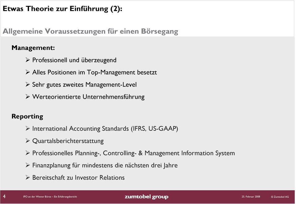 Accounting Standards (IFRS, US-GAAP) Quartalsberichterstattung Professionelles Planning-, Controlling- & Management Information