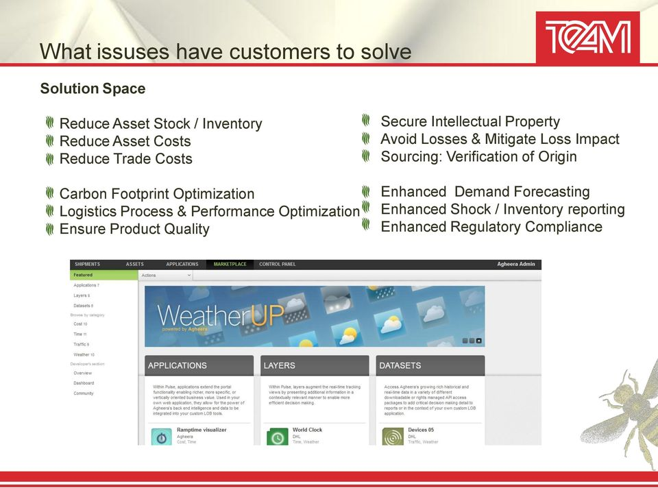 Product Quality Secure Intellectual Property Avoid Losses & Mitigate Loss Impact Sourcing: