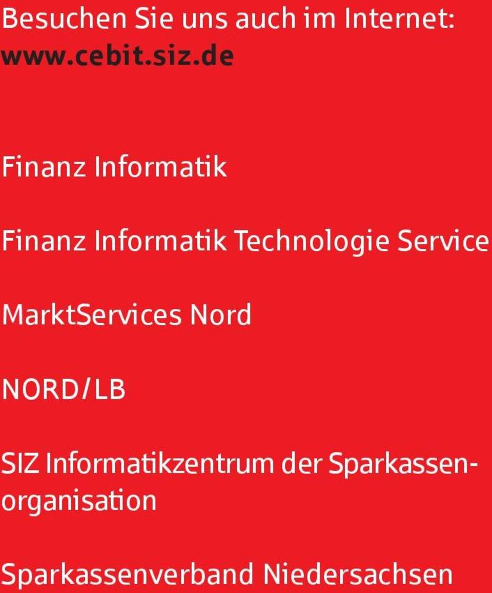 Service MarktServices Nord NORD/LB SIZ