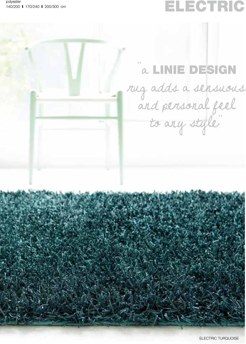 DESIGN rug adds a sensuous and