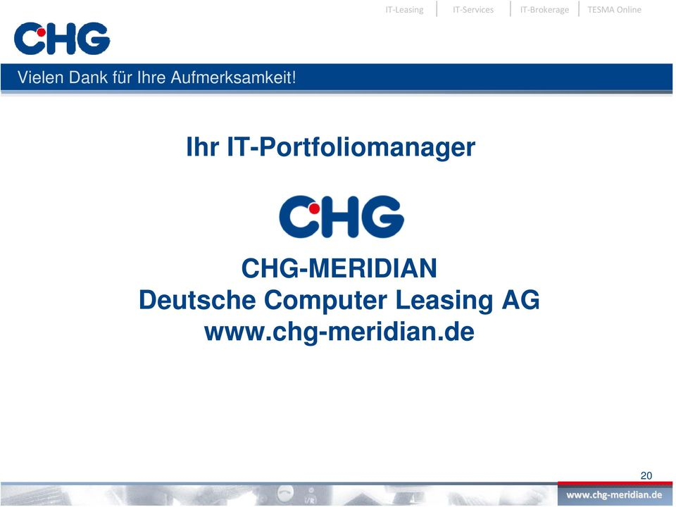 Ihr IT-Portfoliomanager