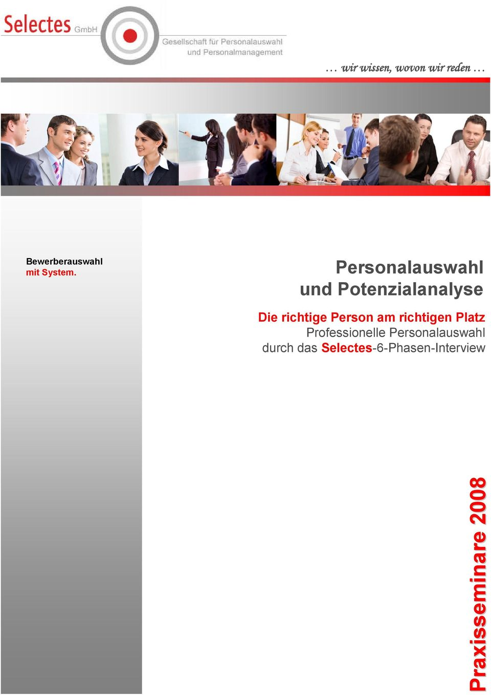 Person am richtigen Platz Professionelle