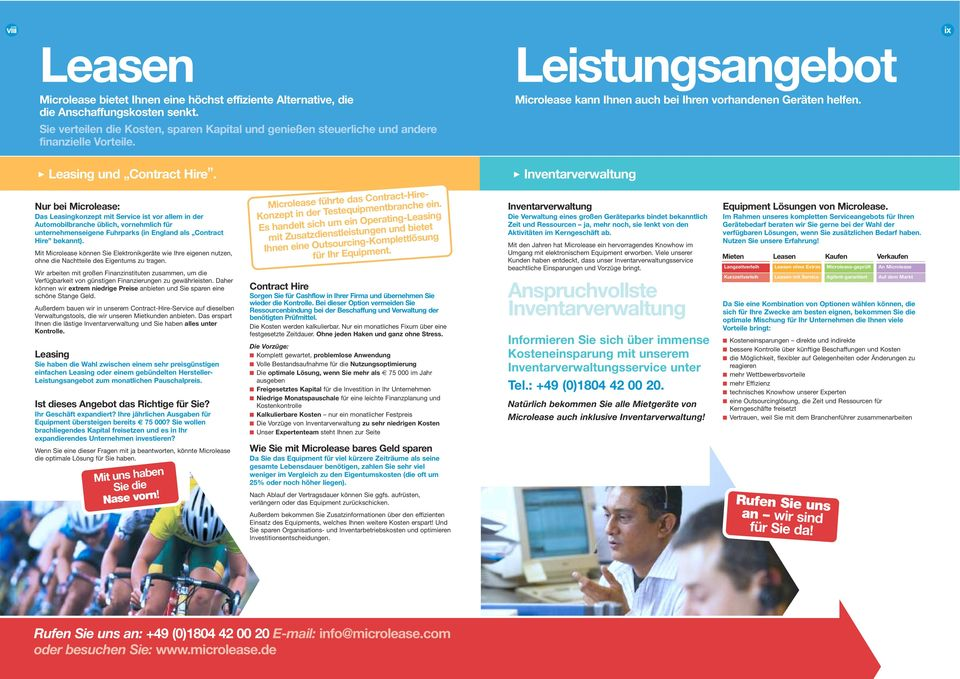 ix Leasing und Contract Hire.