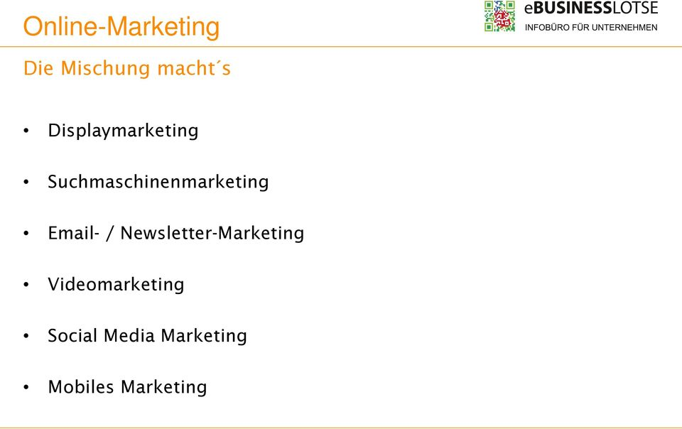 Email- / Newsletter-Marketing