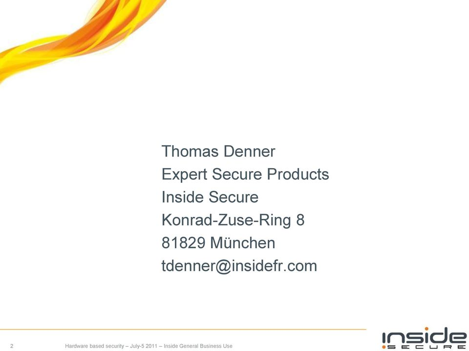 Secure Konrad-Zuse-Ring 8
