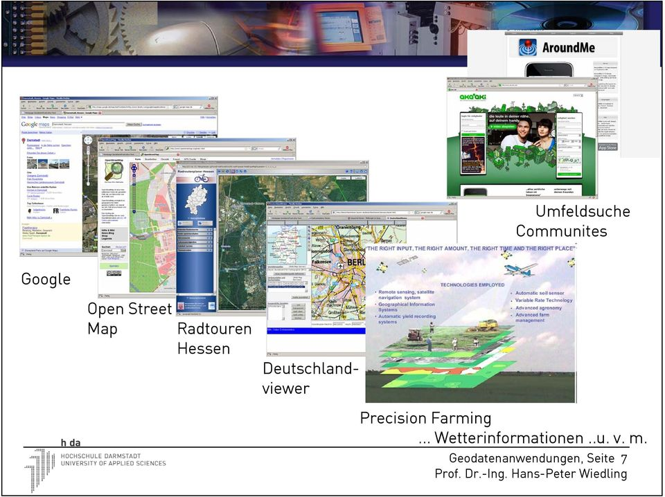 Deutschlandviewer Precision Farming.
