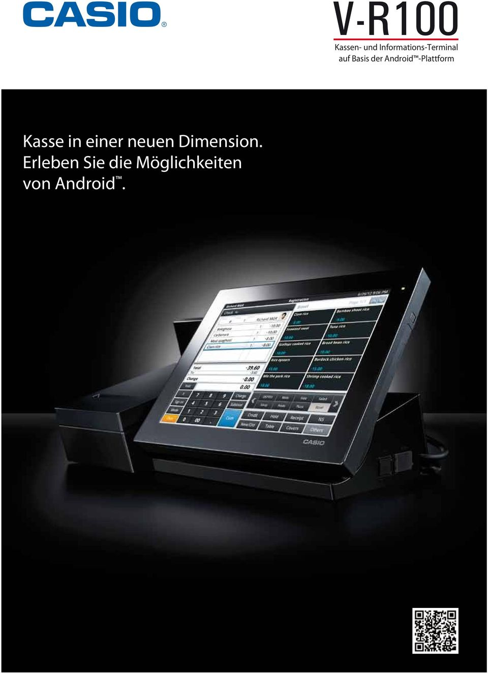Android -Plattform Kasse in einer