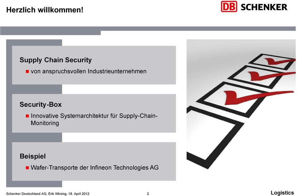 Industrieunternehmen Security-Box Innovative