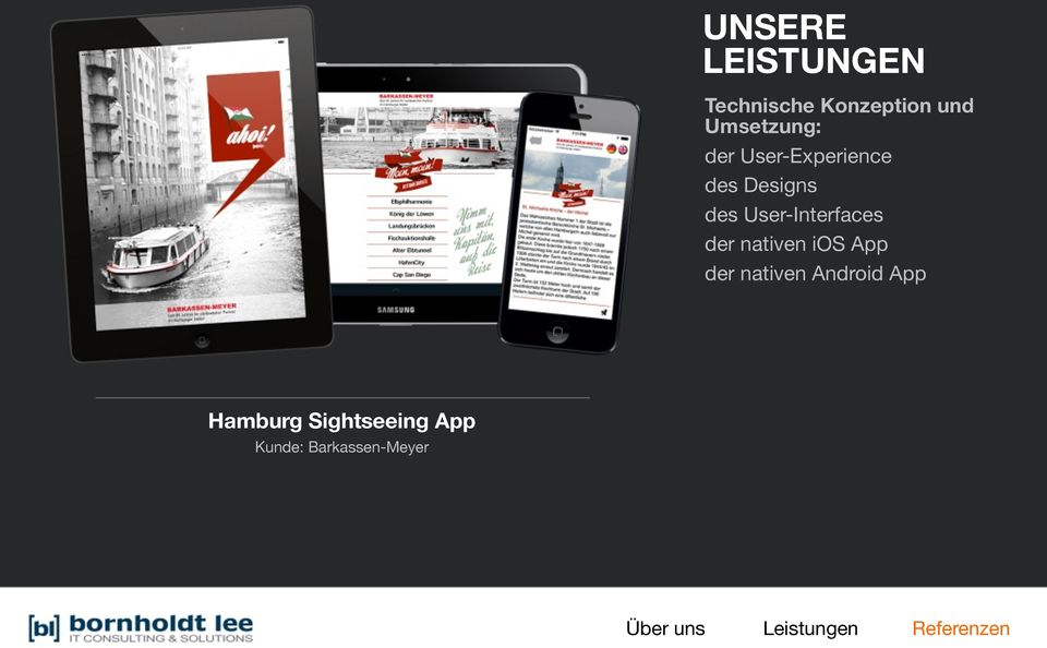der nativen Android App Hamburg