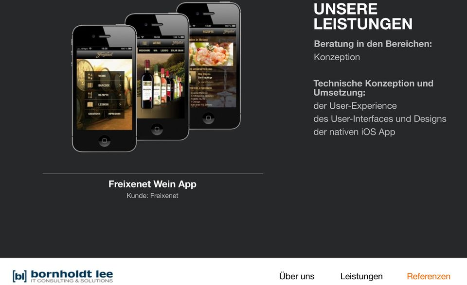 User-Interfaces und Designs der