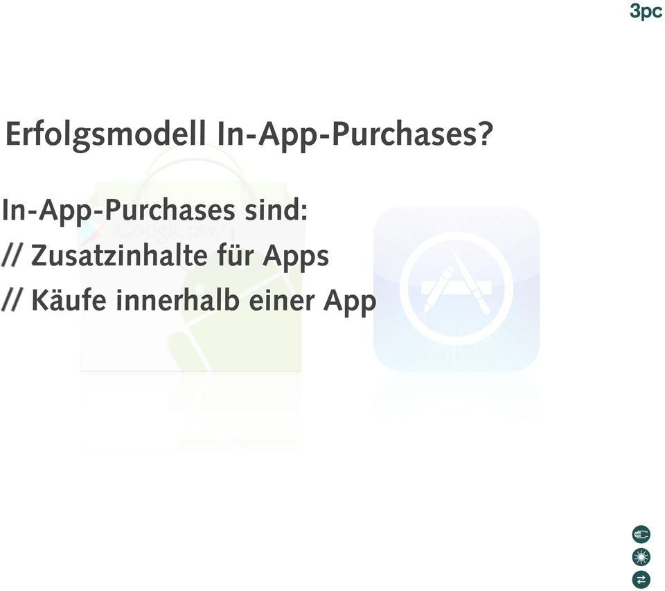 In-App-Purchases sind: