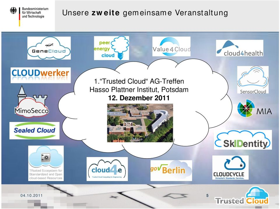 Trusted Cloud AG-Treffen Hasso