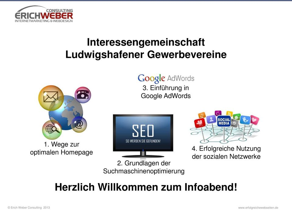 Wege zur optimalen Homepage 2.