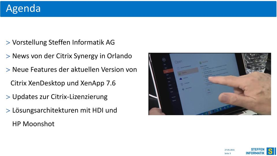 Version von Citrix XenDesktop und XenApp 7.