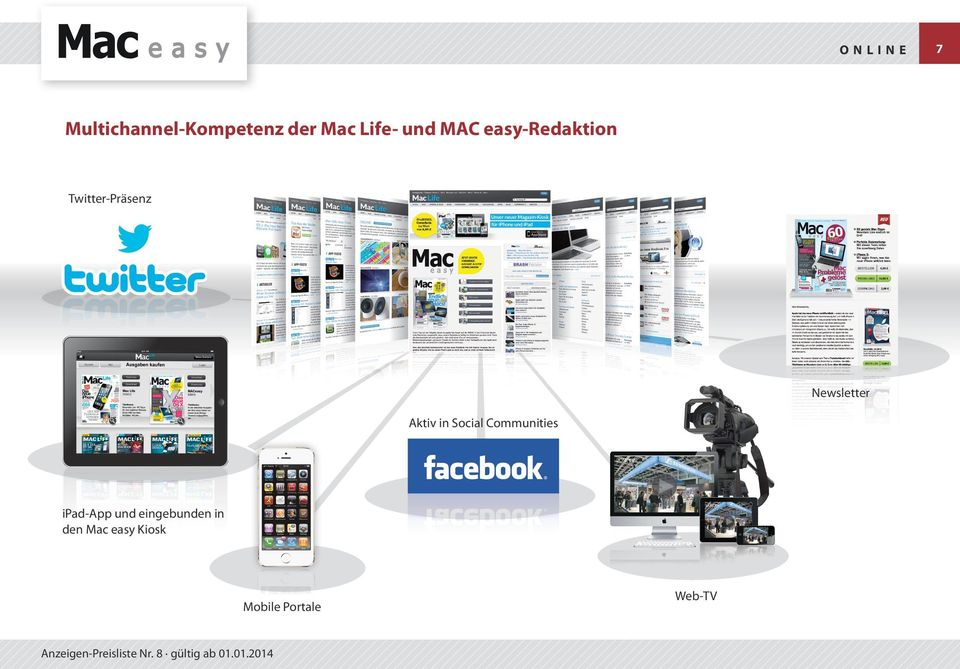 Aktiv in Social Communities ipad-app und