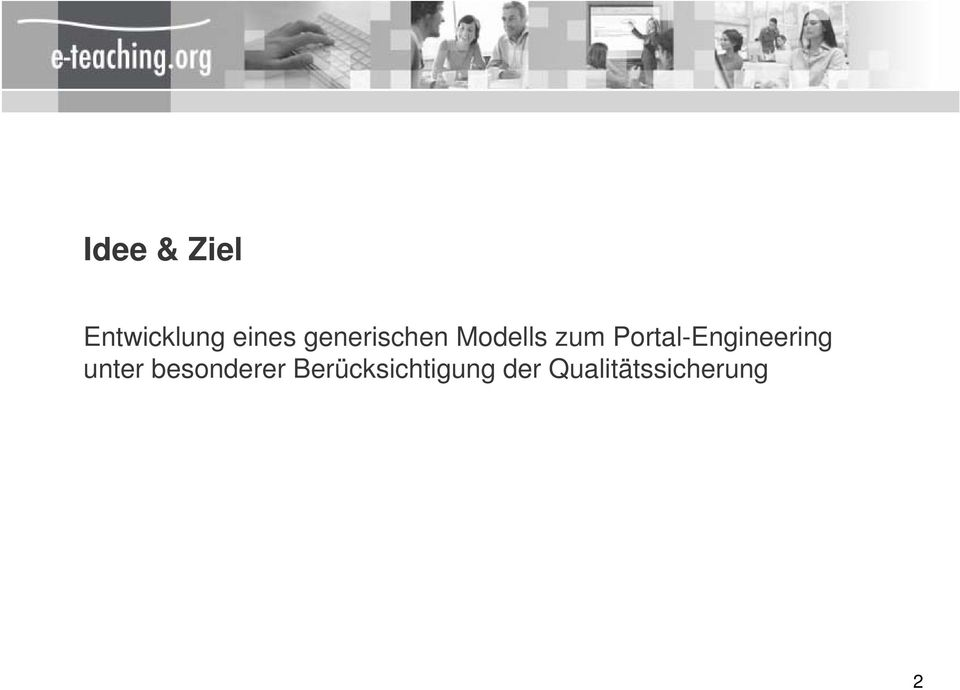 Portal-Engineering unter