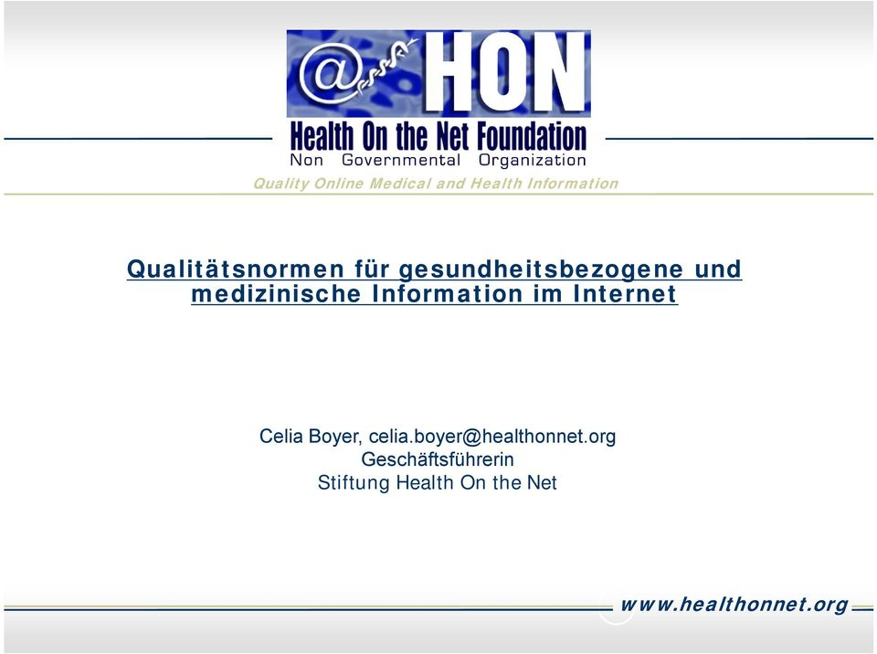 Information im Internet Celia Boyer, celia.